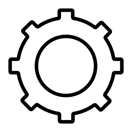 Instellingen, streamline icoon Stockfoto - 82176726