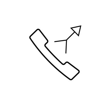 ceo: merge call icon Illustration
