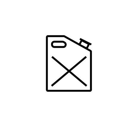 gasoline icon Stock Vector - 82176623