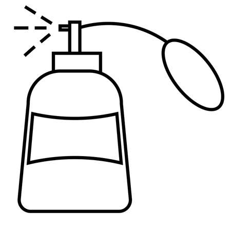 parfume: parfume icon Illustration