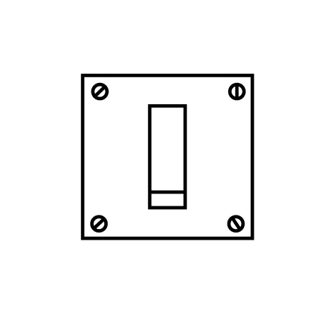 log off: switch off icon
