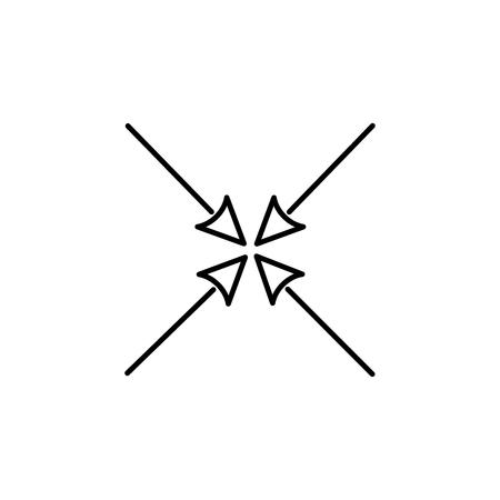 minimize arrows icon