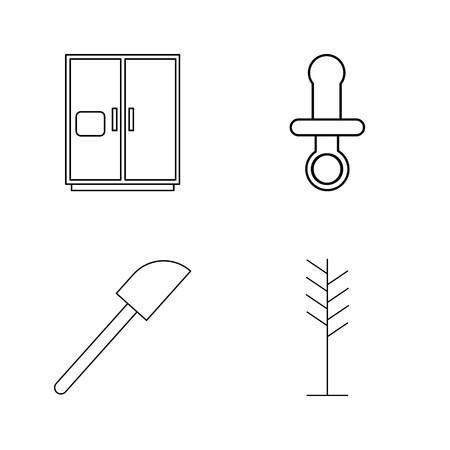 Home Appliances linear icon set Stok Fotoğraf - 94314314