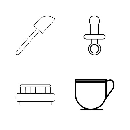 Home Appliances linear icon set Stok Fotoğraf - 94314593