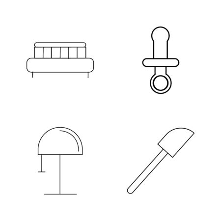 Home Appliances linear icon set Stok Fotoğraf - 94268807