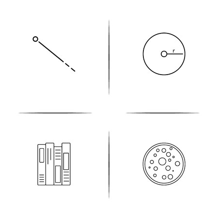 Education And Science simple linear icon set.Simple outline icons Stockfoto - 97551444