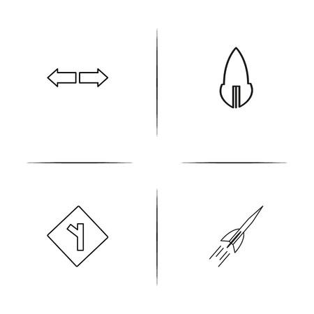 Signage and icons image illustration