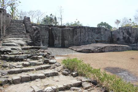 Ratu Boko Palace Stock Photo