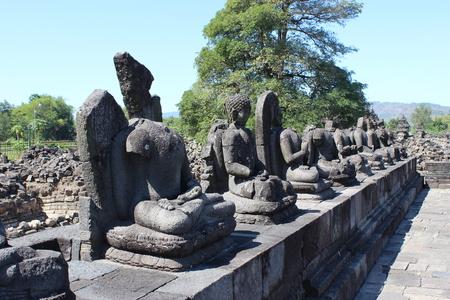 Budha Statue in Plaosan Temple, Klaten , Central Java