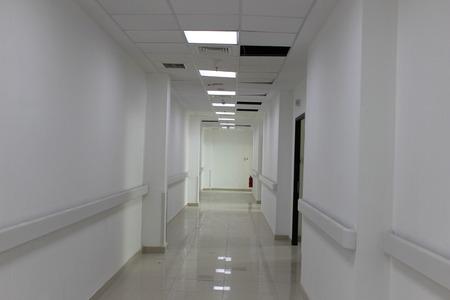 long corridor in ICU room Indonesia hospital
