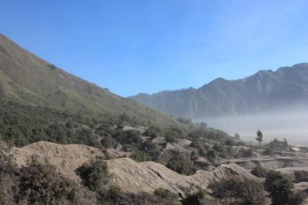 Landscape Of Desert Mountain
