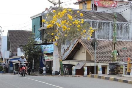 Kepanjen Town Malang. Java, historic. Editorial