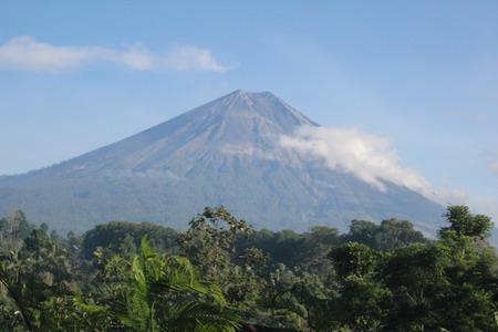 Semeru Mountain Wallpaper lanscape Indonesia