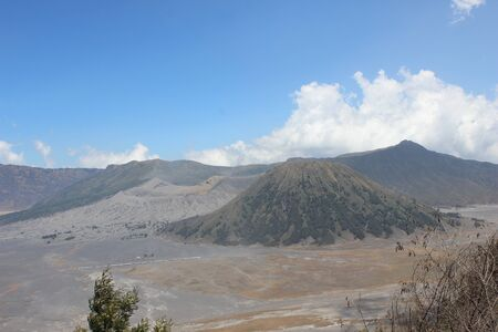 The atmosphere at Seruni Point in Ngadisari Village, Bromo Tengger Semeru National Park, East Java, Indonesia