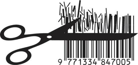 Illustration de vecteur de prix de découpage