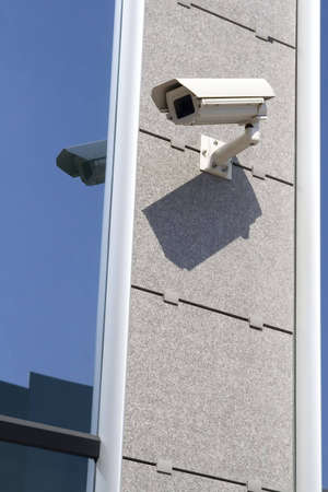 Security cam attached on building Stock Photo - 883119