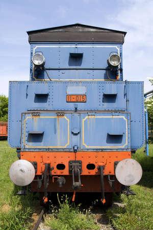 Old vintage train photo
