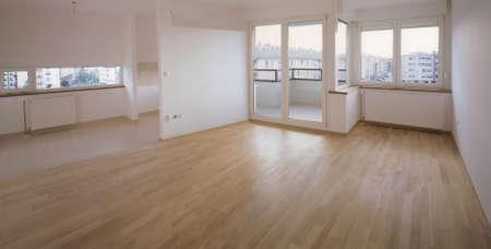 Leerstehenden Wohnung fertig zu bewegen und  Standard-Bild