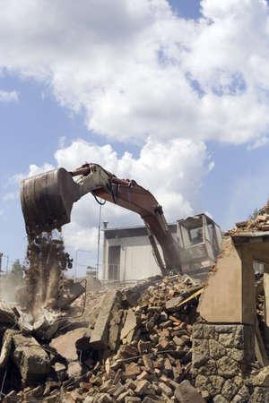ravage: Demolishing building