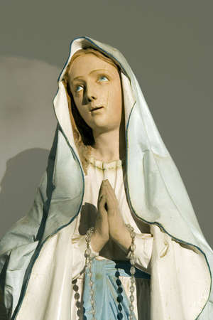 mother god: Holly sculpture