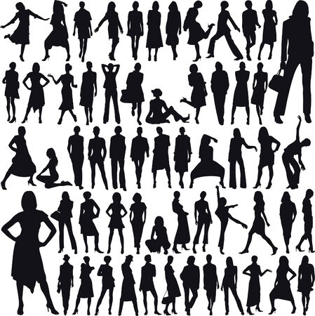 Lots of glamor female models no 07