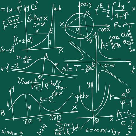 원활한 수학 및 형상 배경 그림