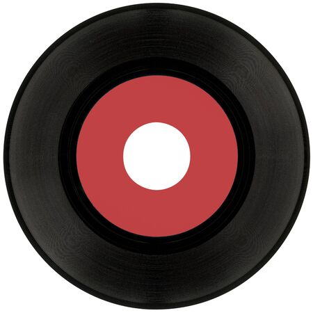 Gramophone vinyl record Standard-Bild