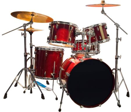 Set of Red drums