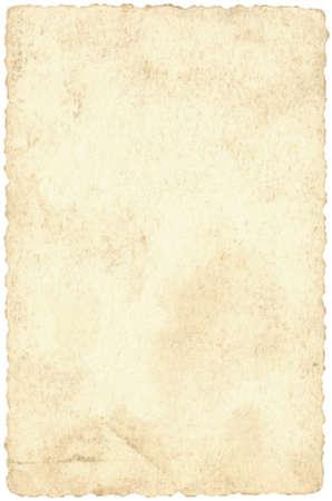 古いベージュはがき用紙の背景