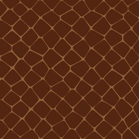 Seamless Vector illustration of Reptilian Skin