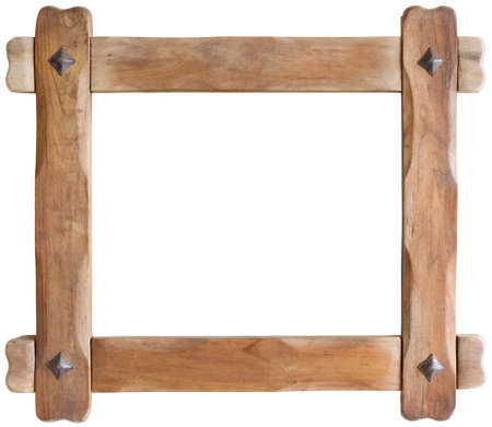 antique frame: Old Wooden Picture Frame Cutout