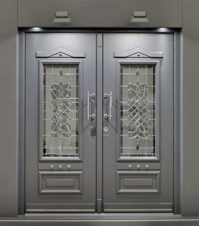 puerta: Massive incombustible met�lico puerta delantera