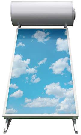 太陽熱温水暖房システム
