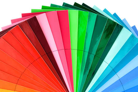 Color Swatch Palette for Printing Industry  photo