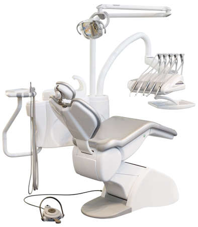 Modern Dentist Chair Isolated