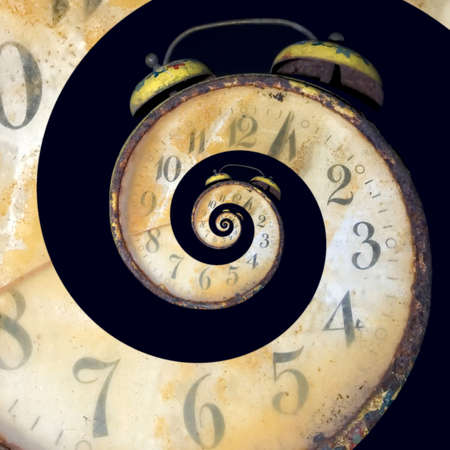 Conceptual Image of Endless Time Passing