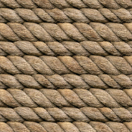 Seamless Heamp Rope Texture Pattern photo