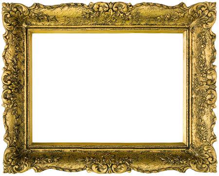 Golden Gilded Picture Frame