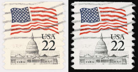 capitol hill: USA Postal Stamp of 22 Cents