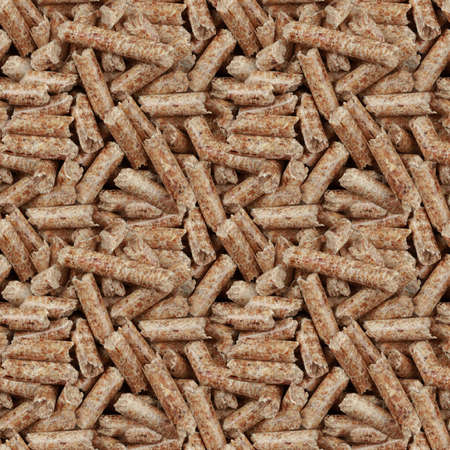 cilinder: Wooden Pellets Seamless Wallpaper Pattern Stock Photo