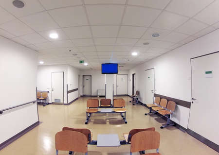 Simple Waiting Room in Hospital