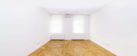 Empty White Apartment for Rent