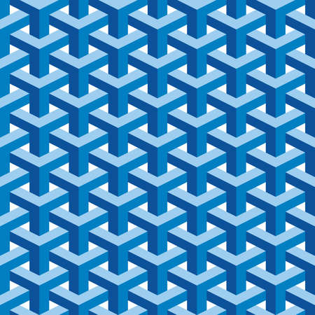 Seamless Square Escher Pattern Background Stock Photo - 18757883