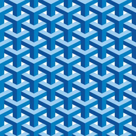 escher: Seamless Square Escher Pattern Background Stock Photo