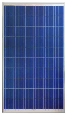 白い背景に分離した太陽光発電の太陽電池パネル 写真素材