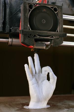3D Printing of Human Hand