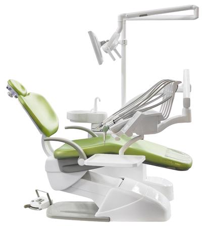 Dental Chair isoliert mit Beschneidungspfad