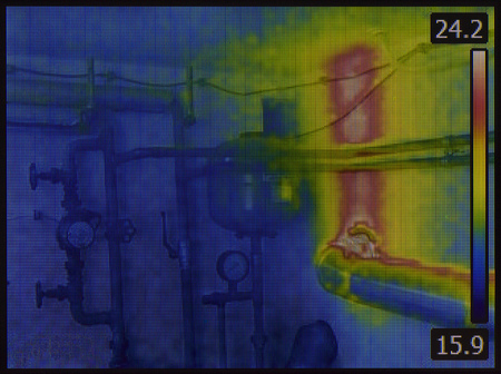 Central Heating System Thermal Imaging
