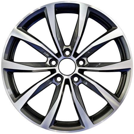 Racing Performance Aluminum Wheel Rim Cutout Reklamní fotografie