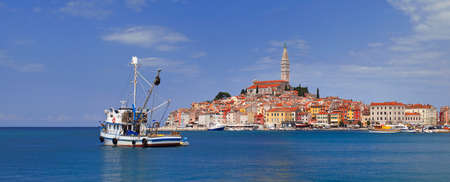 Old Croarian Town Rovinj Panorama